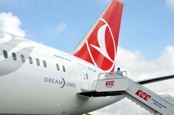THY'nin ilk rüya uçağı Boeing 787-9 Dreamliner İstanbul'a iniş yaptı - Sayfa 12