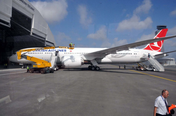 THY'nin ilk rüya uçağı Boeing 787-9 Dreamliner İstanbul'a iniş yaptı - Sayfa 13