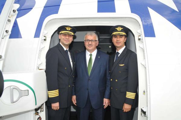 THY'nin ilk rüya uçağı Boeing 787-9 Dreamliner İstanbul'a iniş yaptı - Sayfa 4