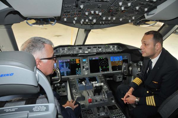 THY'nin ilk rüya uçağı Boeing 787-9 Dreamliner İstanbul'a iniş yaptı - Sayfa 5