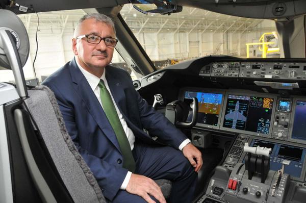 THY'nin ilk rüya uçağı Boeing 787-9 Dreamliner İstanbul'a iniş yaptı - Sayfa 6