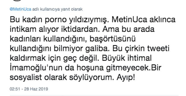 Metin Uca İspark yöneticisi Kübra Nur diye porno yıldızını paylaşınca olanlar oldu - Sayfa 13