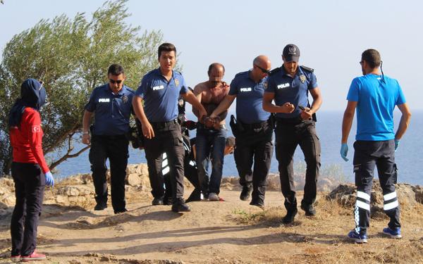 Antalya'da falezlerde intihar girişimi - Sayfa 5