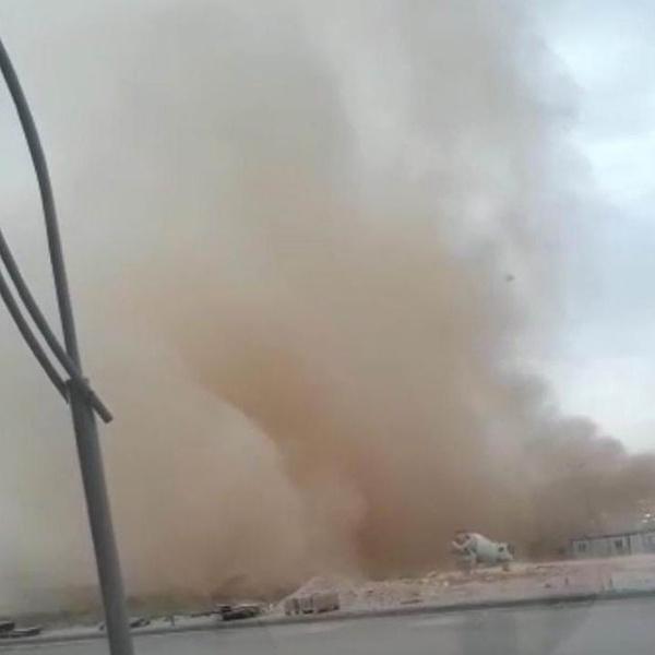 Kırşehir'de toz bulutu oluştu - Sayfa 2