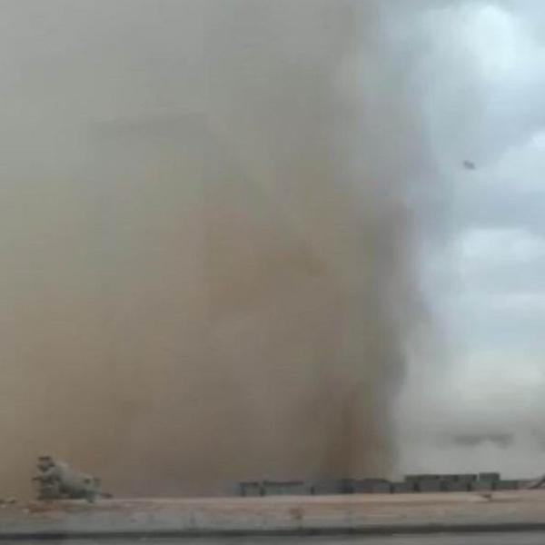 Kırşehir'de toz bulutu oluştu - Sayfa 3