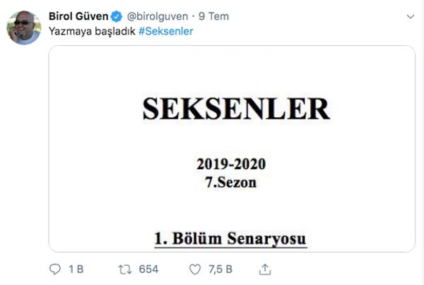 TRT 1'in efsane dizisi Seksenler hakkında flaş gelişme! Yapımcı Birol Güven resmen açıkladı - Sayfa 3