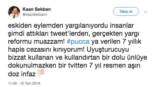 Pucca'nın hapis cezasına ilk tepki eşi Serhat Osman Karagöz'den geldi! Ünlülerden tepki - Sayfa 8
