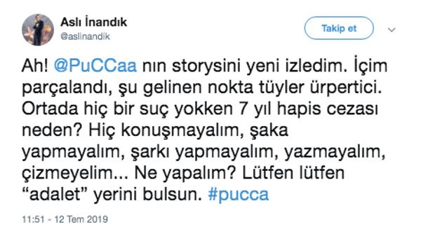Pucca'nın hapis cezasına ilk tepki eşi Serhat Osman Karagöz'den geldi! Ünlülerden tepki - Sayfa 9