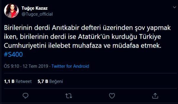 Tuğçe Kazaz Ekrem İmamoğlu'nu şov yapmakla suçladı! S400 yorumu yaptı - Sayfa 5