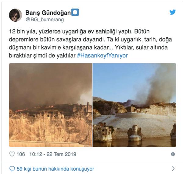 Hasankeyf'te yangın çıktı yürekler ağza geldi Twitter'da bakın ne dediler - Sayfa 6