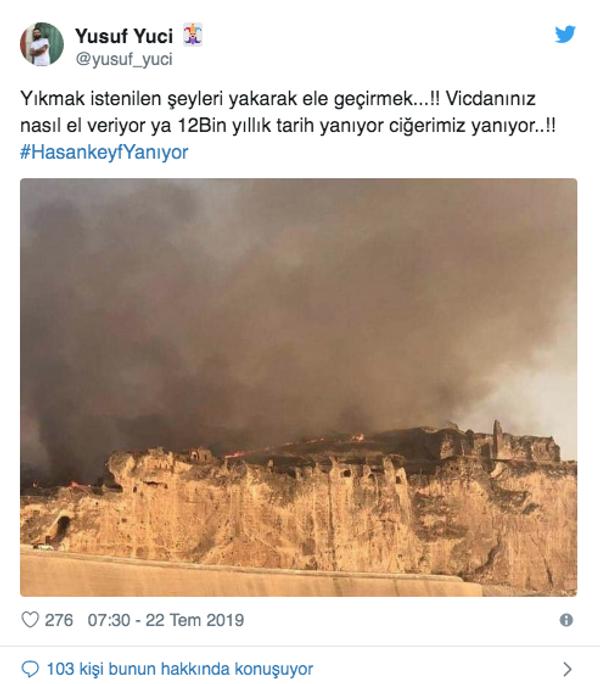 Hasankeyf'te yangın çıktı yürekler ağza geldi Twitter'da bakın ne dediler - Sayfa 7