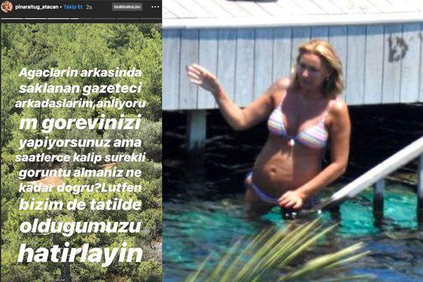 Pınar Altuğ ormanlık alanı çekip ifşa etti! Ağaçların arkasında saklananlara seslendi - Sayfa 2