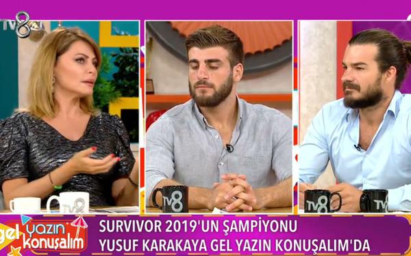 Seray Sever sordu Survivor şampiyonu Yusuf Karakaya sinirlendi: Zavallı bir düşünce - Sayfa 1