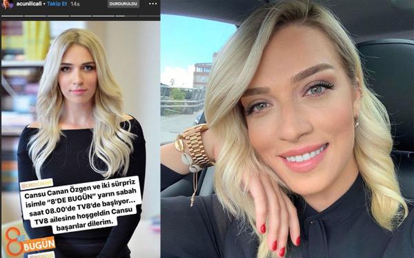 A Haber eski spikeri Cansu Canan Özgen Tv8'e transfer oldu - Sayfa 2