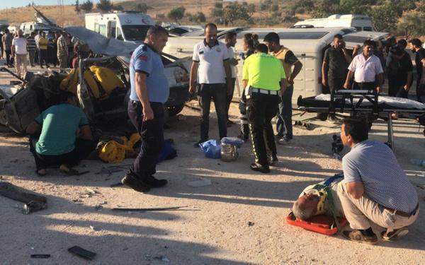 Gaziantep'te trafik kazası 3 ölü 12 yaralı - Sayfa 4