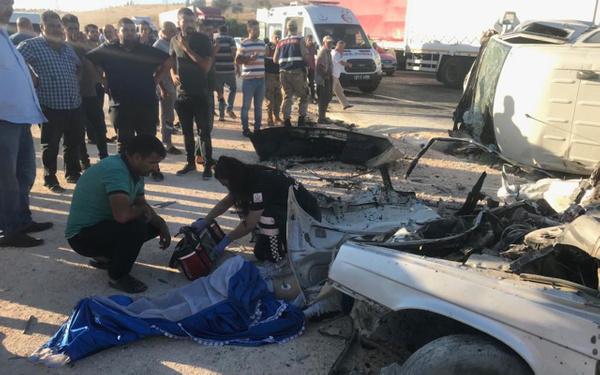 Gaziantep'te trafik kazası 3 ölü 12 yaralı - Sayfa 6
