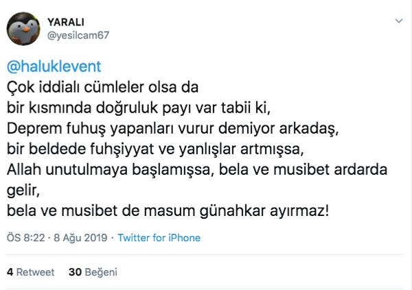 Haluk Levent Denizli depreminin ardından çileden çıktı: Fuhuşu kim yapıyordu? - Sayfa 4