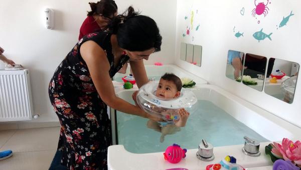 İzmit'te 10 aylık bebeklere SPA masajı yapılıyor! Faydası ne... - Sayfa 8