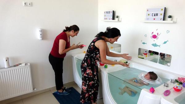 İzmit'te 10 aylık bebeklere SPA masajı yapılıyor! Faydası ne... - Sayfa 4