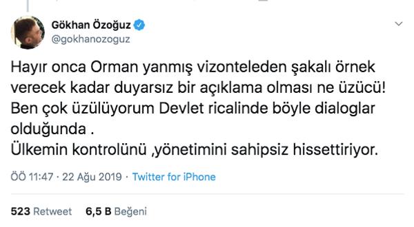 Bakan Bekir Pakdemirli'nin İzmir orman yangını için 'Vizontele' örneğine Gökhan Özoğuz tepkisi - Sayfa 5