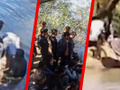 Yunan askerleri göçmenleri Türkiye sınırına böyle taşımış