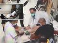 13 santimlik demir kalbine saplandı! Sedye üzerine çıkan doktordan hayat kurtaran müdahale