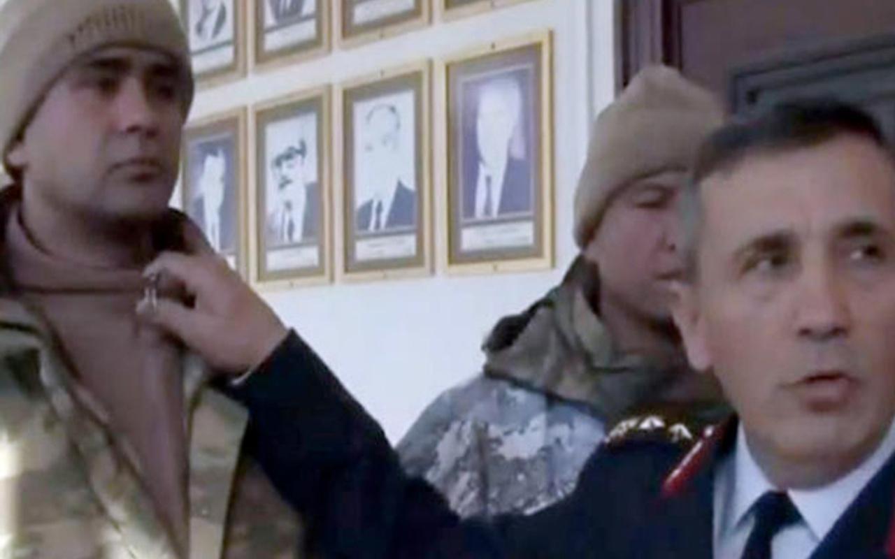 1b7ec446ccb2e Türk askerlerinin kışlık kıyafetini komutan tek tek anlattı - Internet Haber