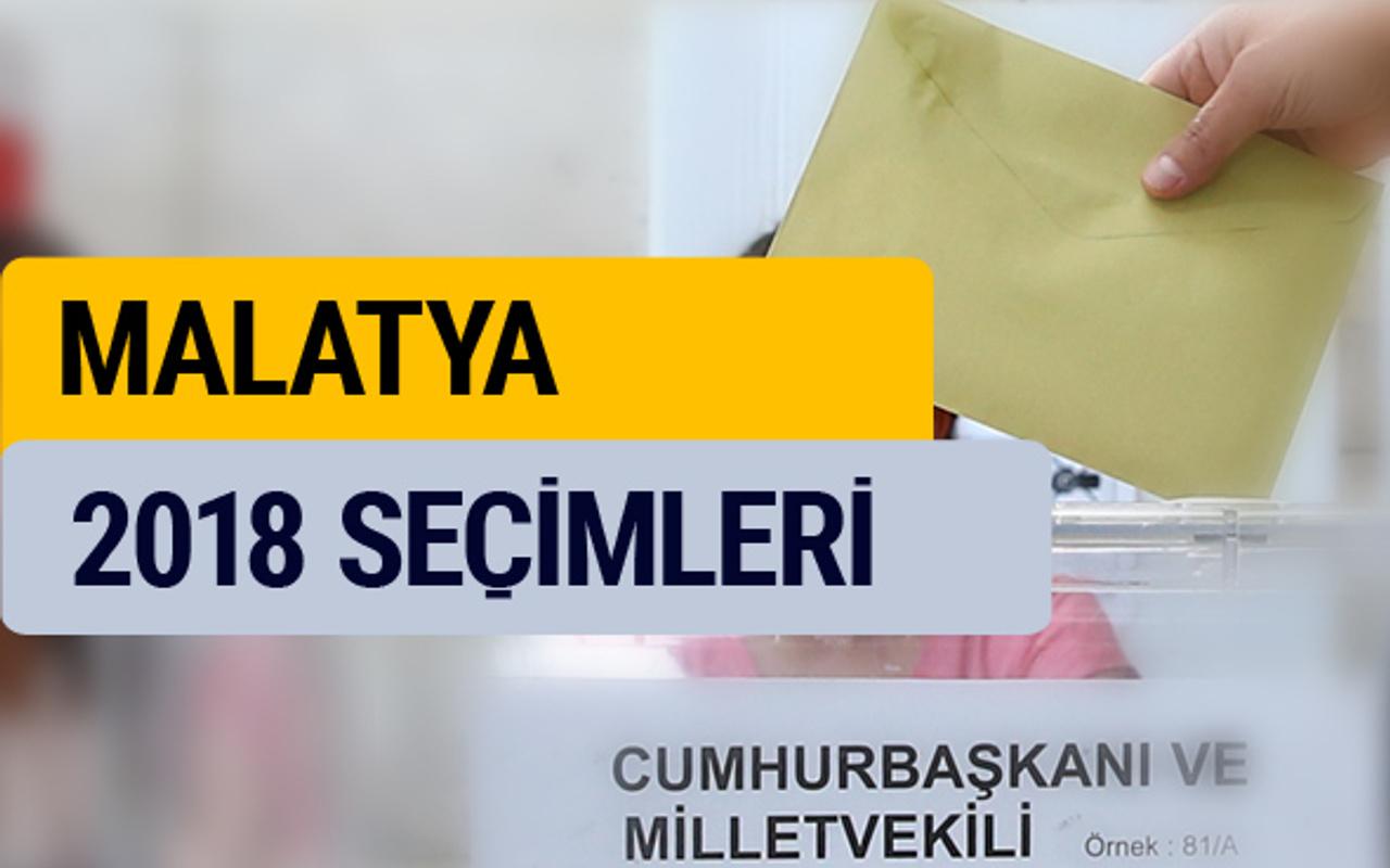 2018 seçim sonuçları Malatya YSK oy sonucu - Internet Haber
