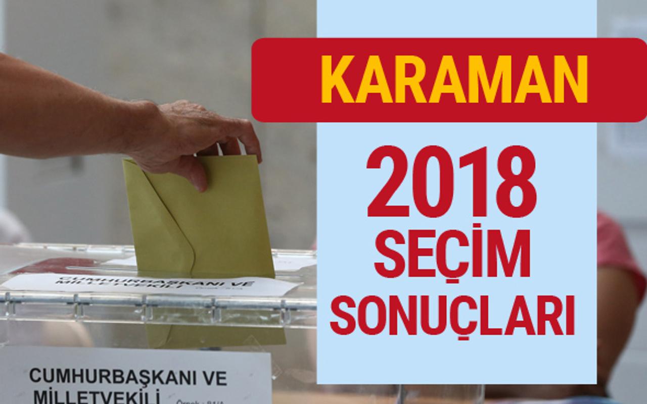 Karaman seçim 2018 sonuçları Karaman genel seçim oyları - Internet Haber