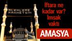 Amasya iftar saatleri 2017 sahur ezan imsak vakti
