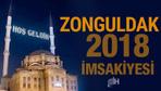 Zonguldak İmsakiye 2018 Diyanet sahur imsak vakti iftar saatleri