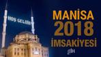 Manisa İmsakiye 2018 Diyanet sahur imsak vakti iftar saatleri