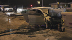 Niğde'de otomobil otobandaki gişelere çarptı 2 ölü 1 yaralı