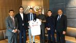Fikret Orman'dan AFC başkanına ziyaret