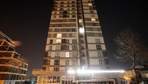 Rezidansın 9.katından düşen kadın öldü