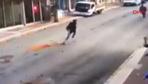 Denizli'de deprem anı güvenlik kamerası görüntüleri