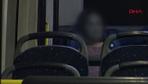 Metrobüsler genç kadının 'sığınma yeri' oldu