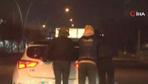 Başkent'te korkutan görüntüler saniye saniye kaydedildi