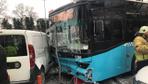 Beyazıt'ta halk otobüsü yayalara çarptı! Çok sayıda yaralı var