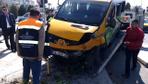 Maltepe'de dolmuş ile otomobil çarpıştı: Yaralılar var