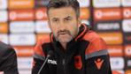 Arnavutluk teknik direktörünün maç sonu istifa açıklaması