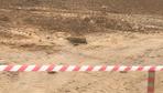 Eyüpsultan'da fidanlıkta top mermisi bulundu