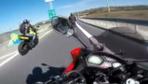 Korkunç kaza kamerada! Ölümden kıl payı kurtuldu