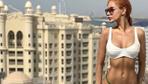 Oyuncu Buse Narcı'nın Dubai'de verdiği pozlar nefes kesti!