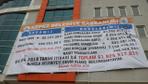 Çanakkale'deki borç afişi CHP'lileri kızdırdı