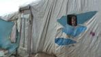 21 yıldır gelin geldiği çadırda yaşıyor! 15 çocuğunun altısı..