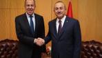 Çavuşoğlu, Lavrov ile Libya'yı görüştü