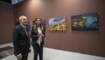 CHP Lideri Kılıçdaroğlu Hande Fırat'ın resim sergisini ziyaret etti