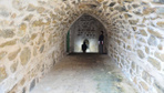 Mardin'de yağan yağmur duvar yıkınca ortaya bakın ne çıktı Tam 600 yıllık