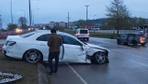 Trabzonsporlu futbolcu Hüseyin Türkmen kaza geçirdi